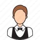 avatar, cleaner, cleanig, service, waiter icon