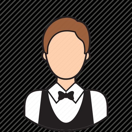 avatar, cleaner, cleanig, service, waiter icon