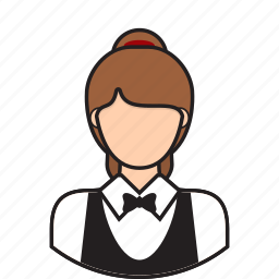 avatar, cleaner, cleanig, service, waitress icon