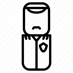 avatar, design, people, policeman icon