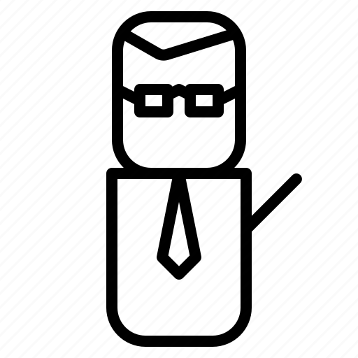 avatar, design, people, teacher icon