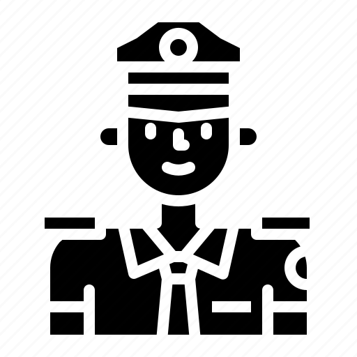 avatar, guard, man, person, police, security icon