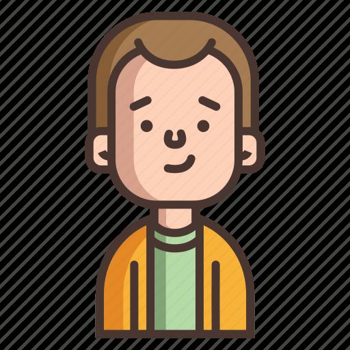 avatar, boy, cute, human, kids, man, people icon