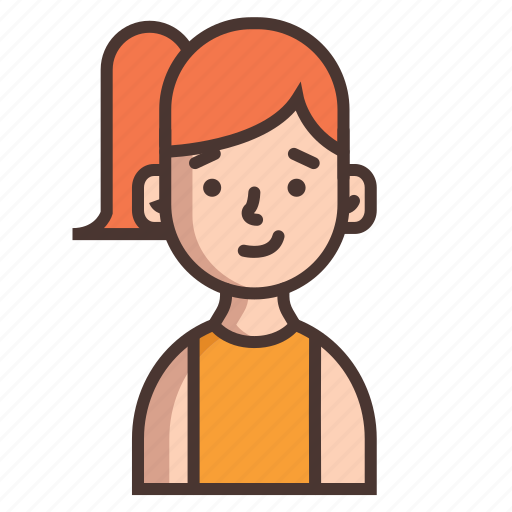avatar, girl, girls, human, kids, people, woman icon