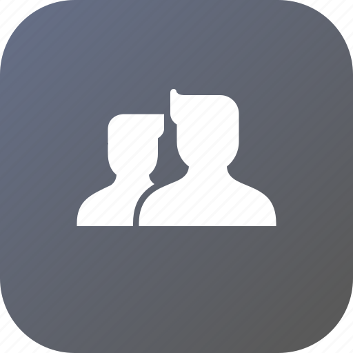 Group, people, thinking, avatar, meeting, think, connect icon - Download