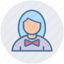 assistant, avatar, miss female, personal assistant, secretary, support icon