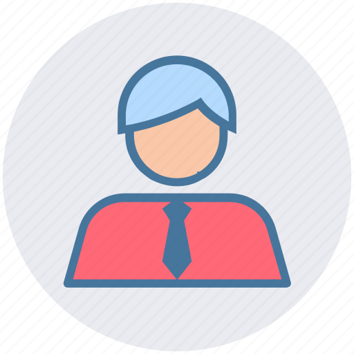 avatar, business, employee, man, office, people, professional icon