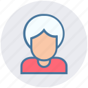 avatar, grandmother, head, lady, old, people, woman icon