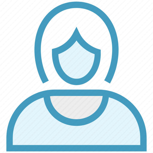 avatar, business, female, girl, person, user, woman icon