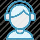 avatar, boy, disk jockey, headphones, male, music, music listening