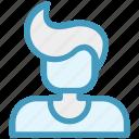 boy, genius, user, man, male, nerd, avatar icon