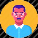 avatar, businessman, indian, male, man, person, teacher, user icon