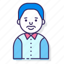 avatar, bowtie, character, male, man, person, user icon
