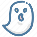 ghost, doodle, avatar, spirit, transparent