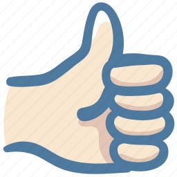 awesome, doodle, good, hand, like, thumbs up icon