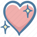 doodle, favorite, heart, like, love icon