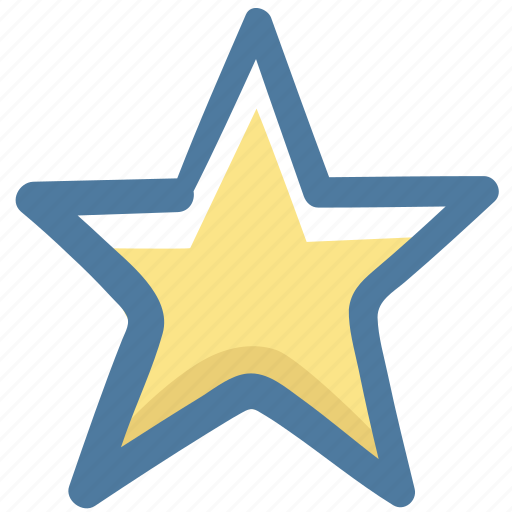 doodle, star icon