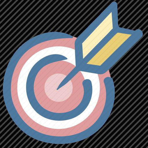 archer, archery, arrow, doodle, target, target arrow icon