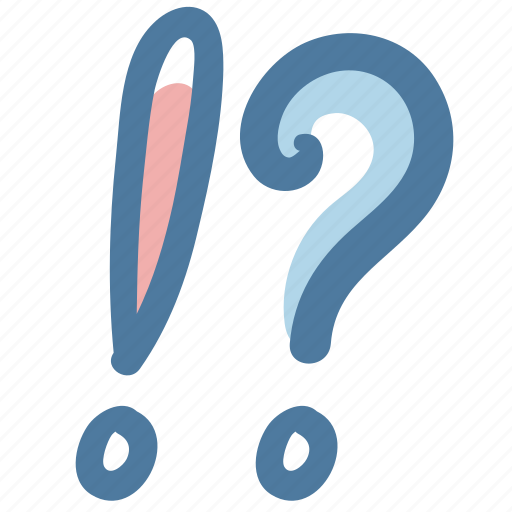 Doodle, faq, question, mark, remind icon - Download