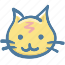 animal, avatar, cat, doodle icon