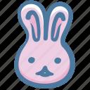 animal, bunny, doodle, rabbit