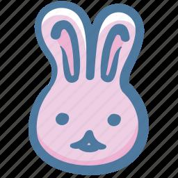 animal, bunny, doodle, rabbit icon