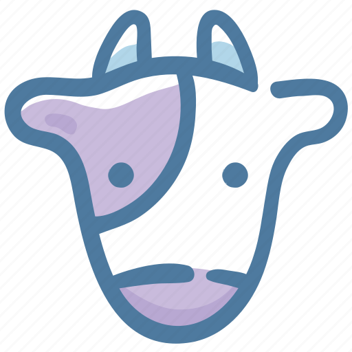 Animal, cow, doodle icon - Download on Iconfinder