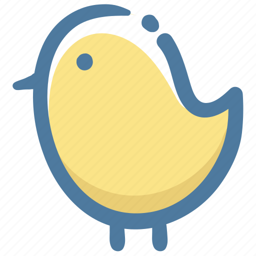Animal, chick, doodle icon - Download on Iconfinder