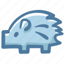 animal, doodle, porcupine icon