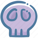 corpse, death, doodle, skull icon