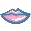 doodle, kiss, lips, mouth icon