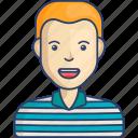 avatar, boy, kid, man, profile icon