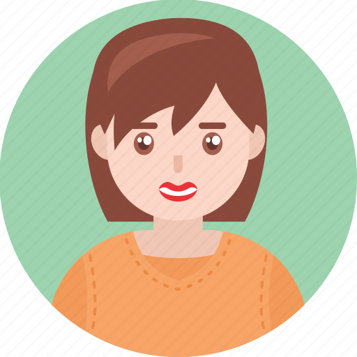Avatar, female, girl, happy, kid, smile, woman icon - Download on Iconfinder
