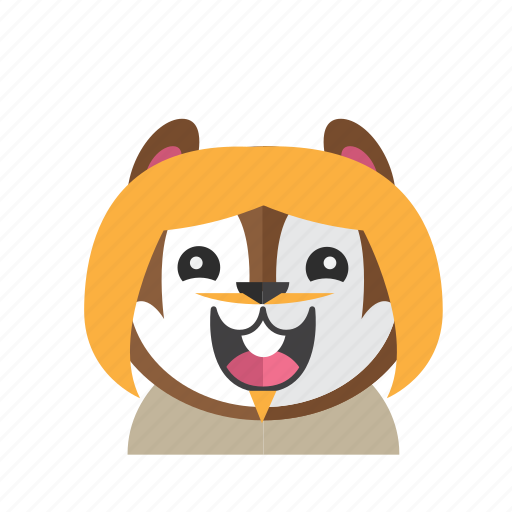 Avatar, chipmunk, costume, cute, kid, smile, style icon - Download on Iconfinder