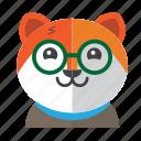 avatar, costume, cute, dog, fox, smile icon