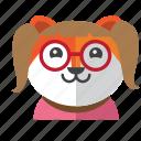 avatar, costume, cute, dog, fox, smile