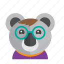 animal, australia, avatar, cute, kangaroo, koala icon