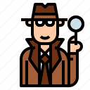 crime, detective, holmes, inspector, sherlock icon