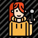 jazz, karaoke, mic, microphone, singer icon