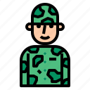 army, force, military, silhouette, soldier, team icon