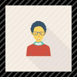 avatar, boy, fashion, man, person, profile, user icon