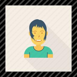 artist, avatar, boy, fashon, person, profile, user icon