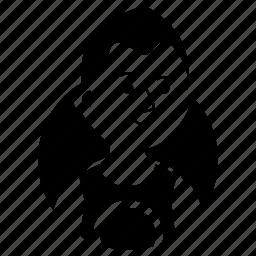 avatar, boy, emoji, expression, man, shaggy hair, tank top icon