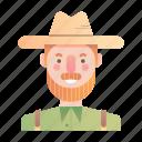 farmer, man, occupation, profession, woodwork, worker, workshop
