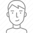 avatar, boy, guy, male, man, profile, teenager icon