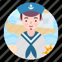 avatar, people, profession, sailor, user