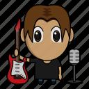 avatar, chibi, music, musician, profession icon