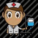 avatar, chibi, medical, nurse, profession