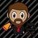 avatar, chibi, cinema, film direction, profession icon