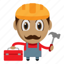 avatar, builder, chibi, handyman, profession